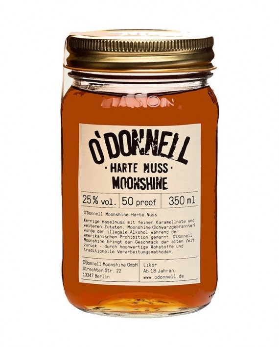 O`DONNELL MOONSHINE HARTE NUSS