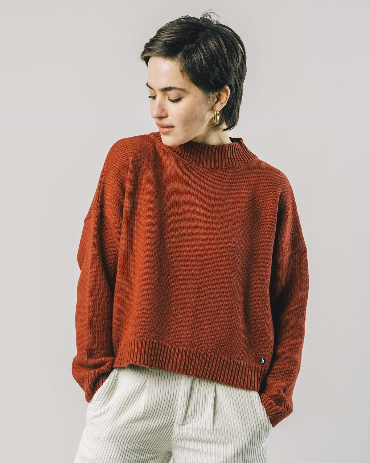 BRAVA BACK BUTTONS PULLOVER