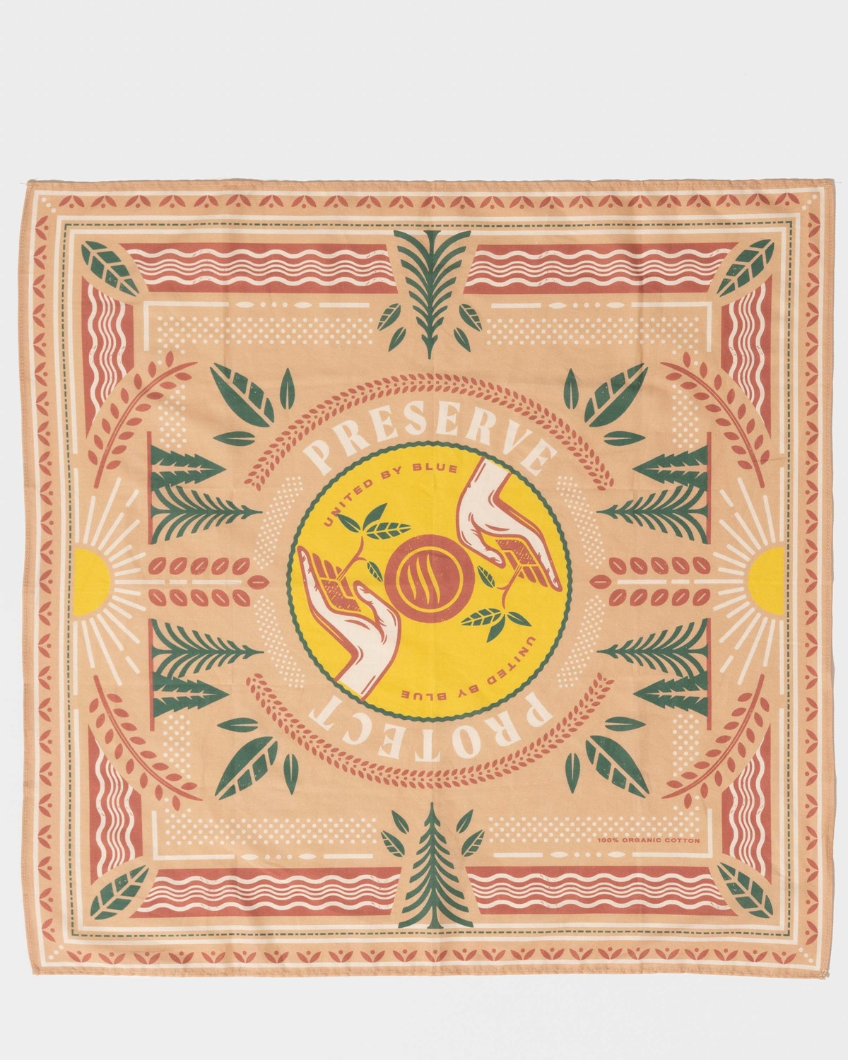 UNITED BY BLUE PRESERVE AND PROTECT BANDANA