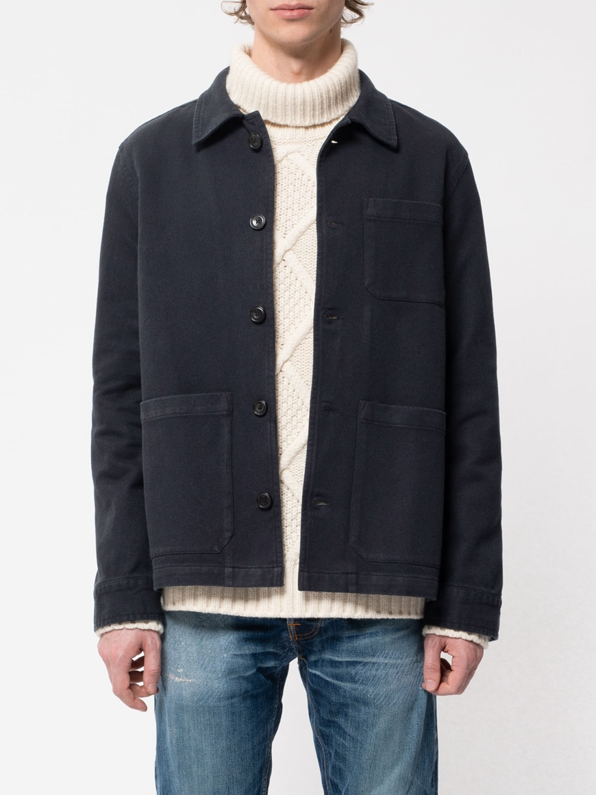NUDIE JEANS BARNEY WORKER JACKET
