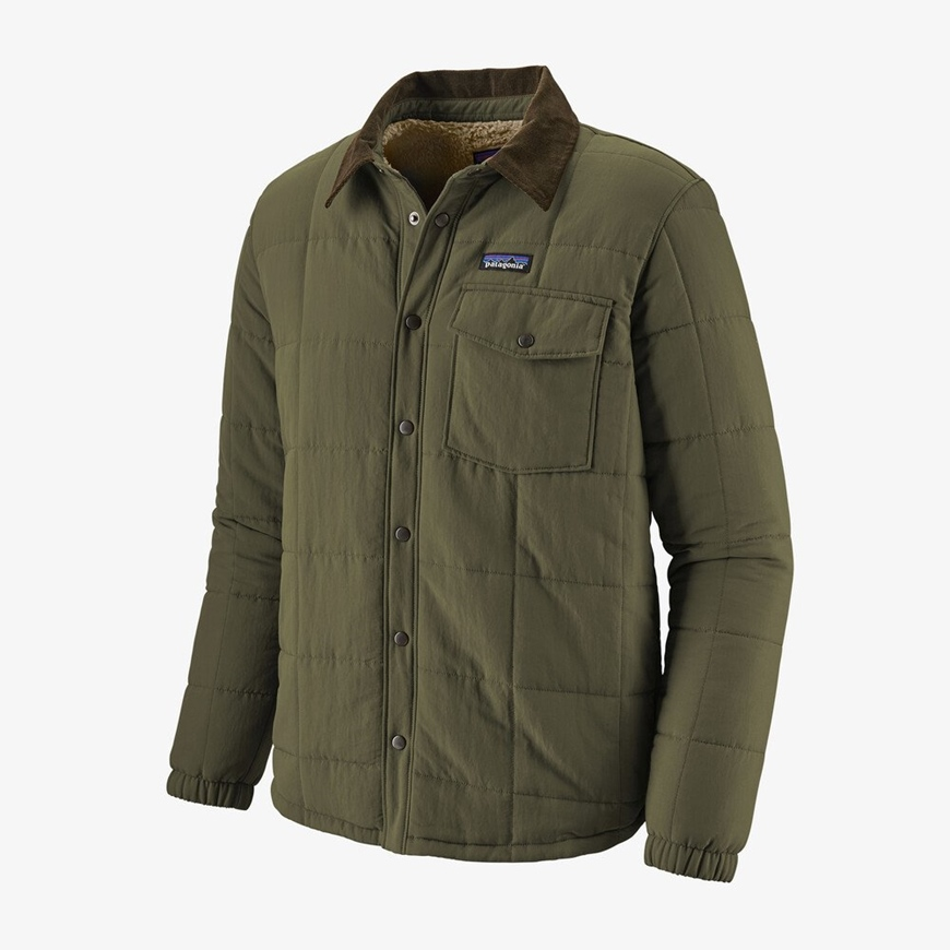 PATAGONIA M`S ISTHMUS QUILTED SHIRT JKT