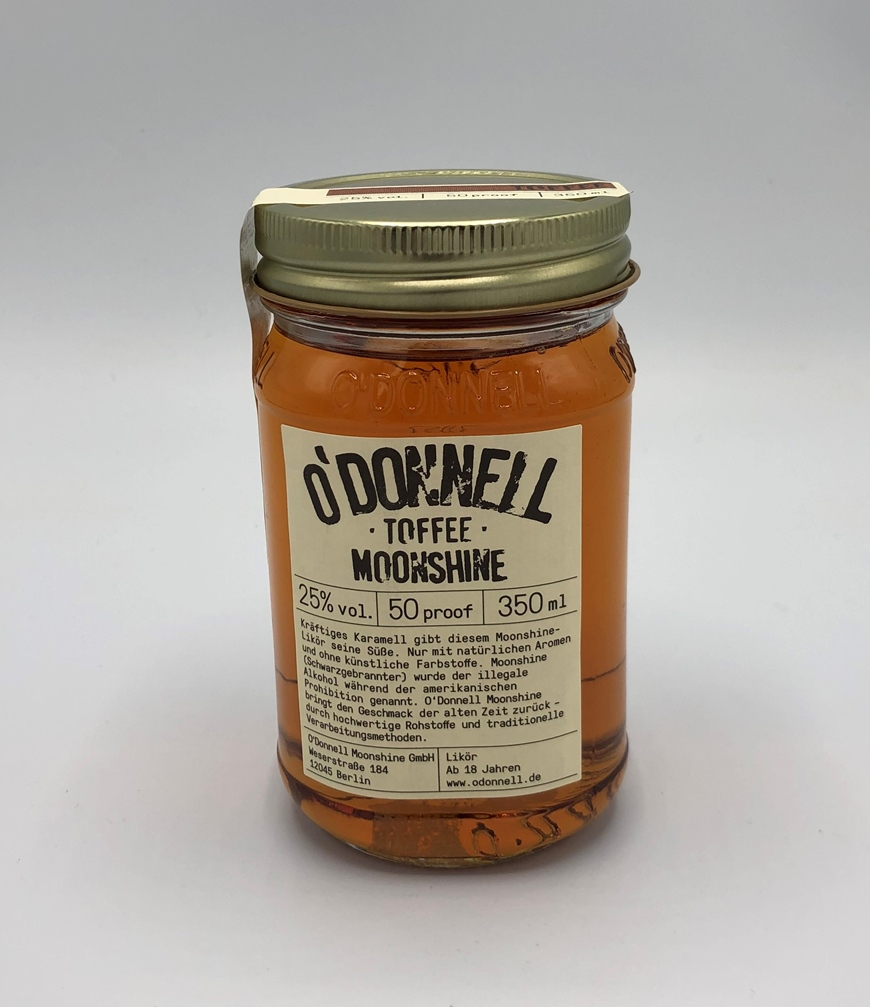 O`DONNELL MOONSHINE TOFFEE