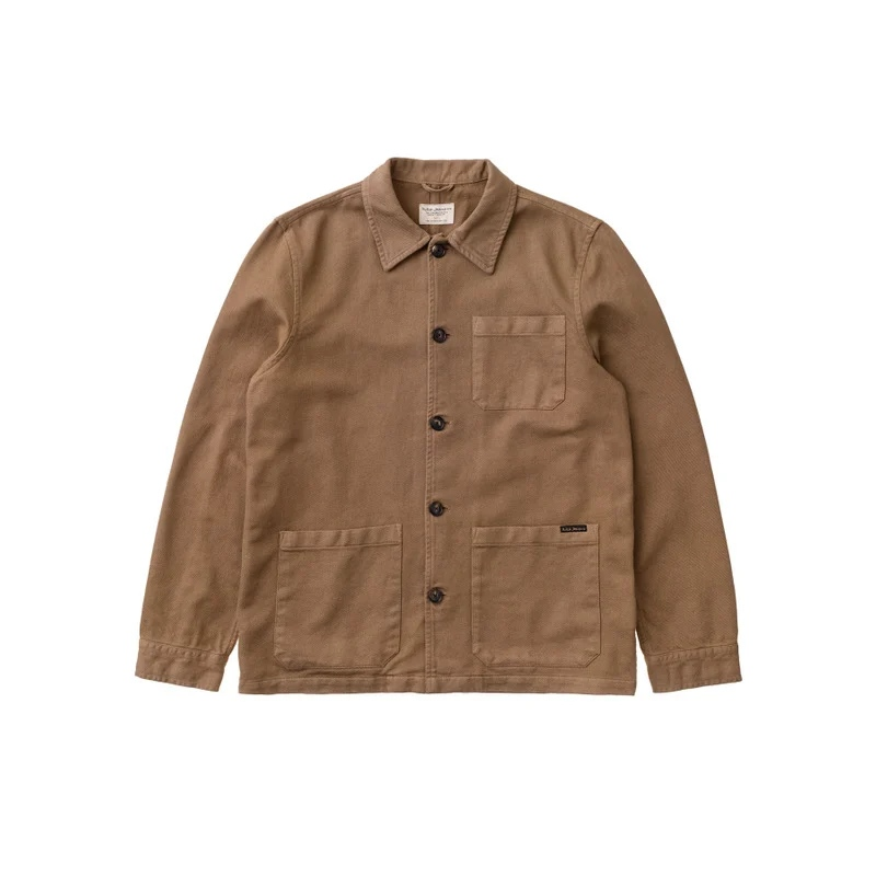 NUDIE JEANS BARNEY CANVAS JACKET