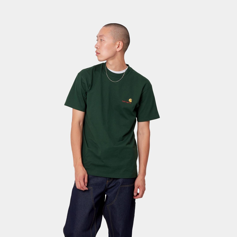 CARHARTT S/S American Script T-Shirt