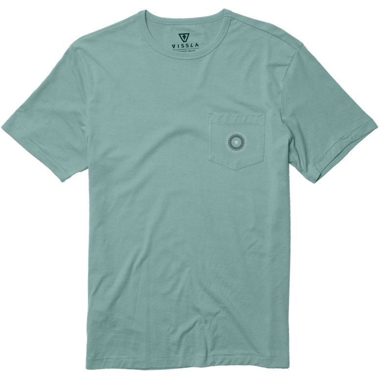VISSLA ILLUMINATED PKT TEE