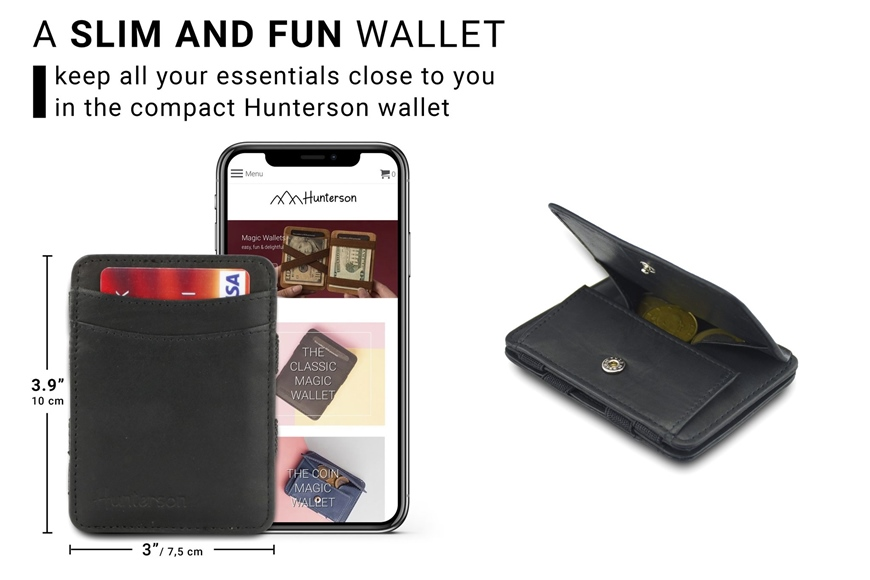 HUNTERSON MAGIC COIN WALLET